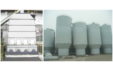 High concentration bleaching tower (various materials warehouse, pulp tower, bleaching tower)