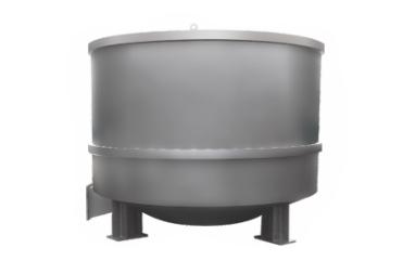 Low-thick hydraulic pulper