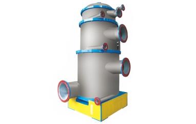 Multistage pressure screen