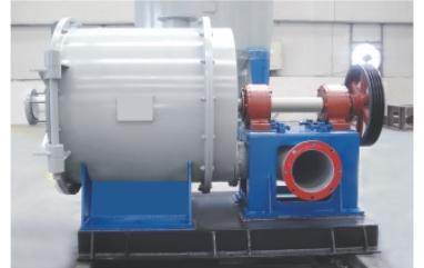 Single-effect fiber separator