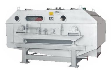 High speed pulp washer